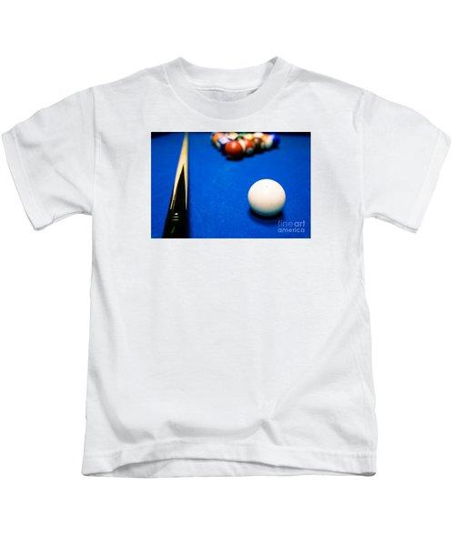8 Ball Pool Table Kids T-Shirt