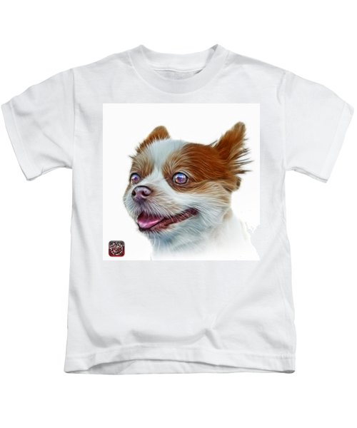 Pomeranian Dog Art 4584 - Wb Kids T-Shirt
