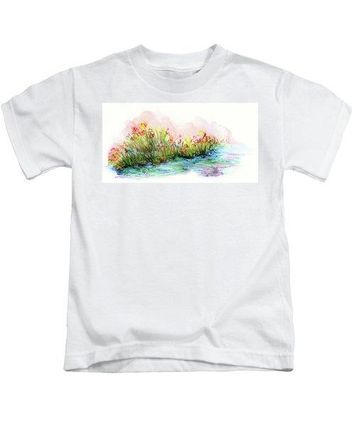 Sunrise Pond Kids T-Shirt