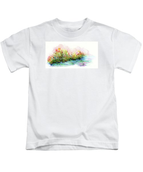 Sunrise Pond Kids T-Shirt