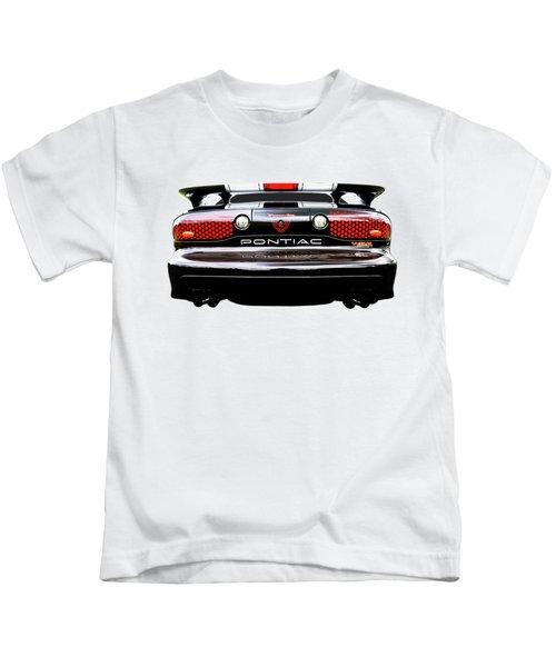 Pontiac Trans Am Rear Lights Kids T-Shirt