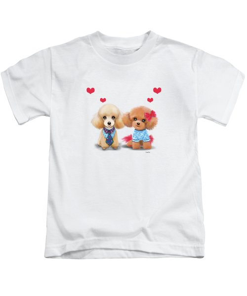 Poodles Are Love Kids T-Shirt
