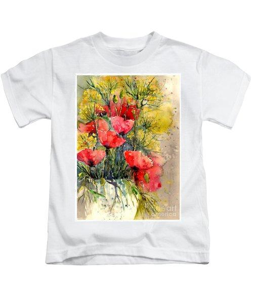 Poppy Impression Kids T-Shirt