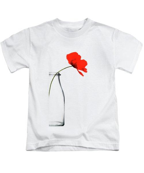 Poppy Red Kids T-Shirt