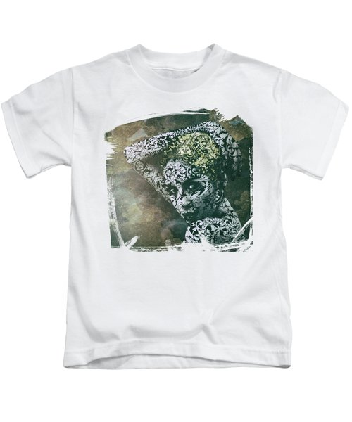 Porcelain Stare Kids T-Shirt