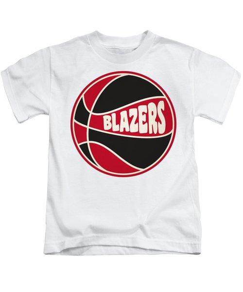 Portland Trail Blazers Retro Shirt Kids T-Shirt