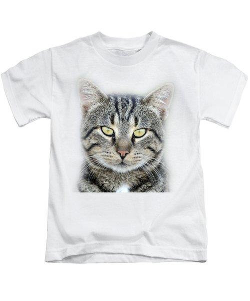 Portrait Of A Cat Kids T-Shirt