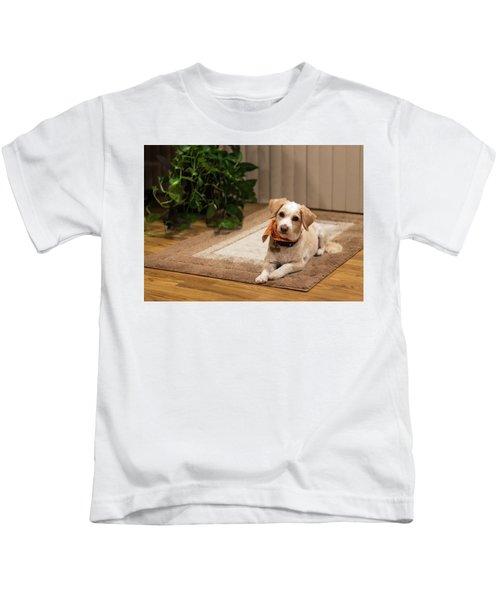 Portrait Of A Dog Kids T-Shirt