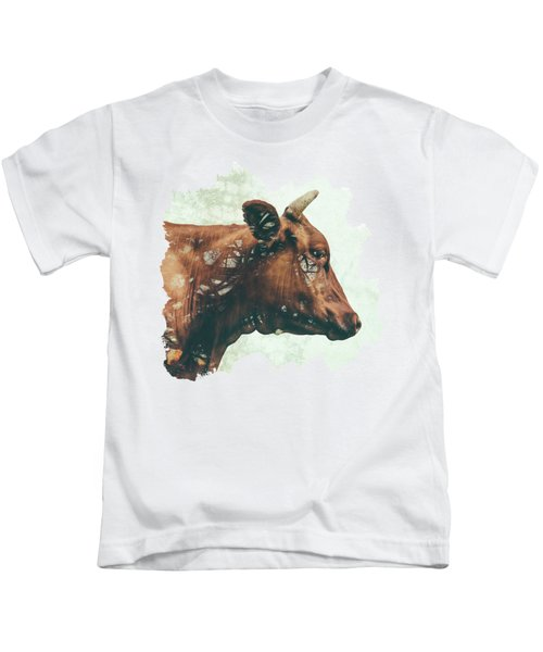 Portrait Of Bess Kids T-Shirt