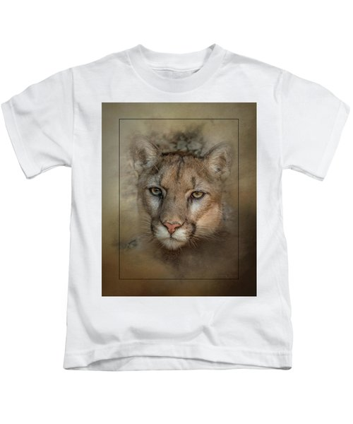 Portrait Of Cruz Kids T-Shirt