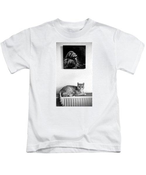 Portraitiere Mich. Jetzt.  #imhotep Kids T-Shirt
