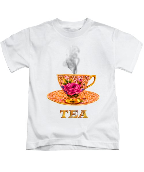 Potty About Tea Kids T-Shirt