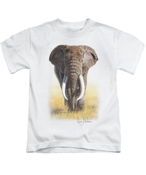Power Of Nature Kids T-Shirt by Lucie Bilodeau