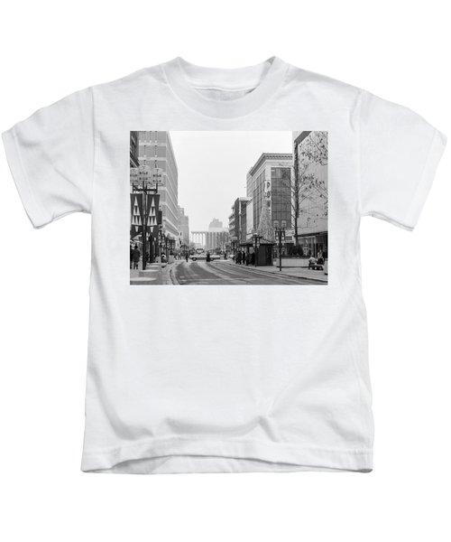 Powers Christmas Tree Kids T-Shirt