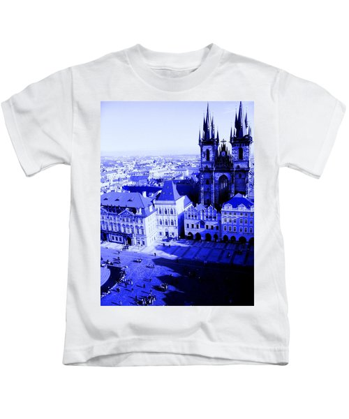 Prague Cz Kids T-Shirt