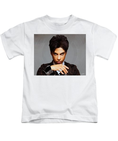 Prince Kids T-Shirt by Paul Tagliamonte