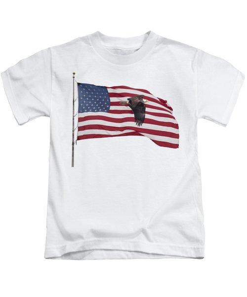Proud To Be An American Kids T-Shirt