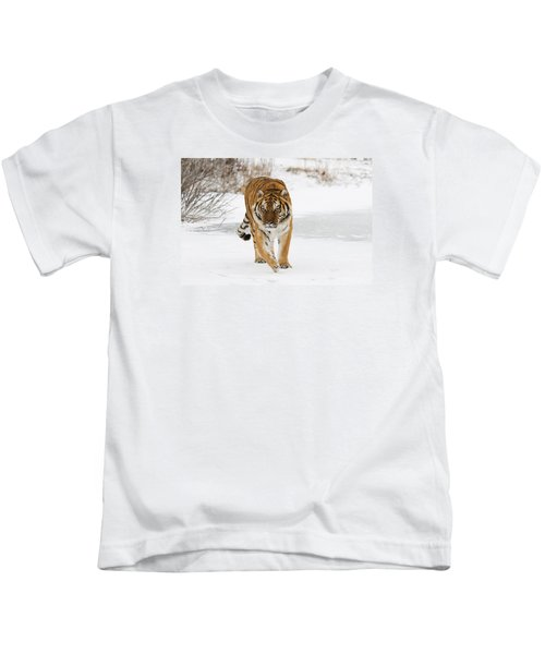 Prowling Tiger Kids T-Shirt