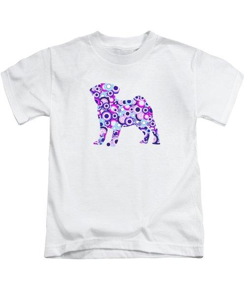 Pug - Animal Art Kids T-Shirt