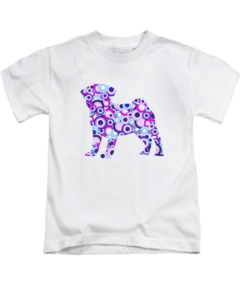 Pug - Animal Art Kids T-Shirt