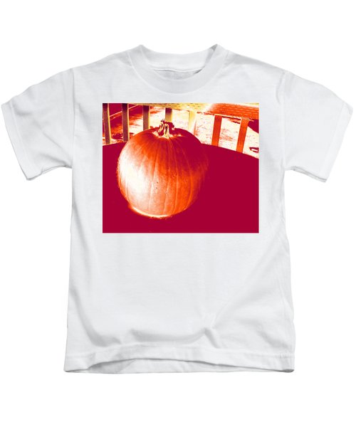 Pumpkin #1 Kids T-Shirt