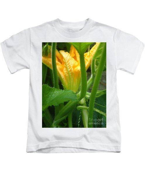 Pumpkin Blossom Kids T-Shirt