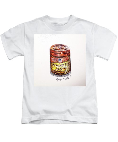 Pumpkin Pie Spice Kids T-Shirt