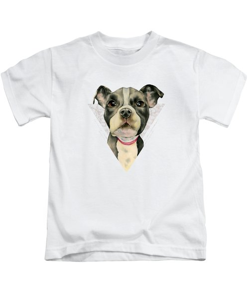 Puppy Eyes 2 Kids T-Shirt