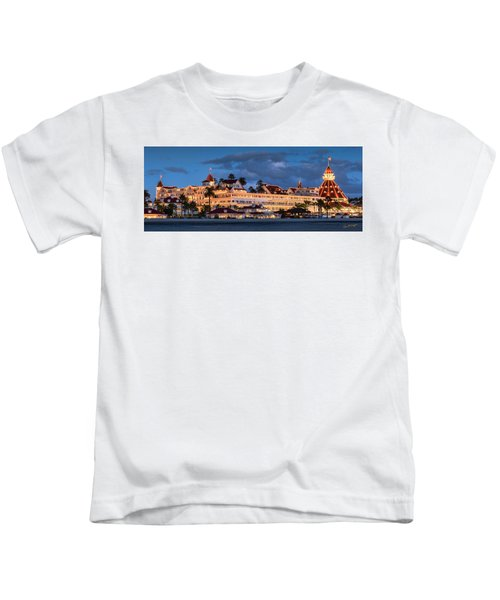 Pure And Simple Pano 48x18.5 Kids T-Shirt
