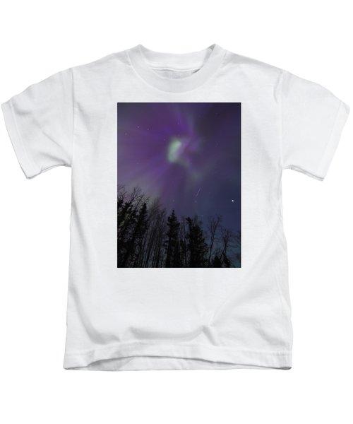 Purple Corona Kids T-Shirt