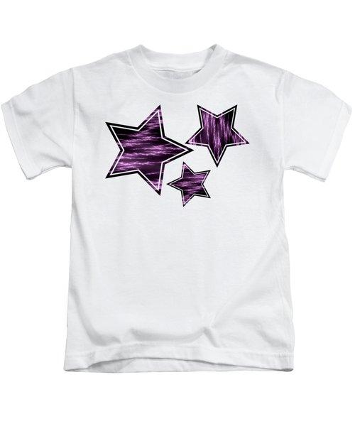 Purple Lightening Kids T-Shirt