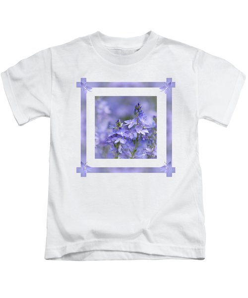 Purple Ribbons Kids T-Shirt