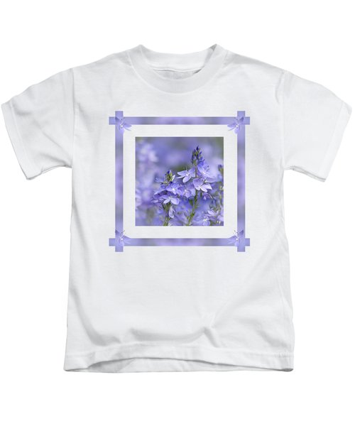 Purple Ribbons Kids T-Shirt