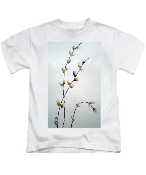 Pussy Willows Kids T-Shirt