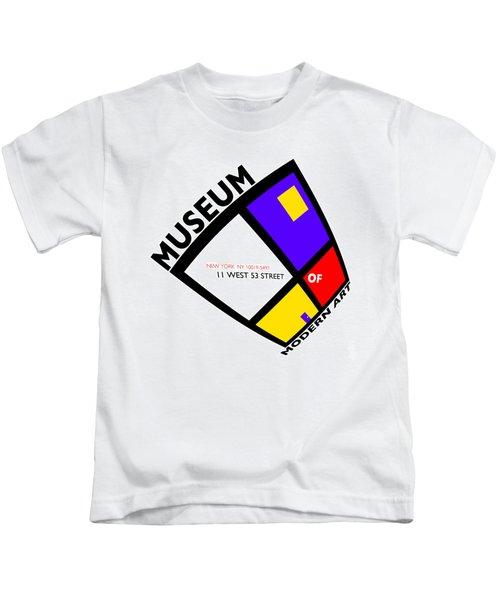 Putting On De Stijl Kids T-Shirt