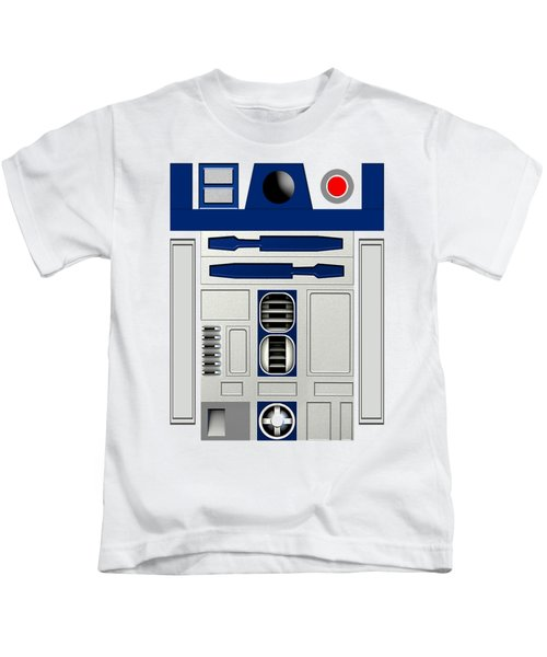 R2d2 Kids T-Shirt by Janis Marika