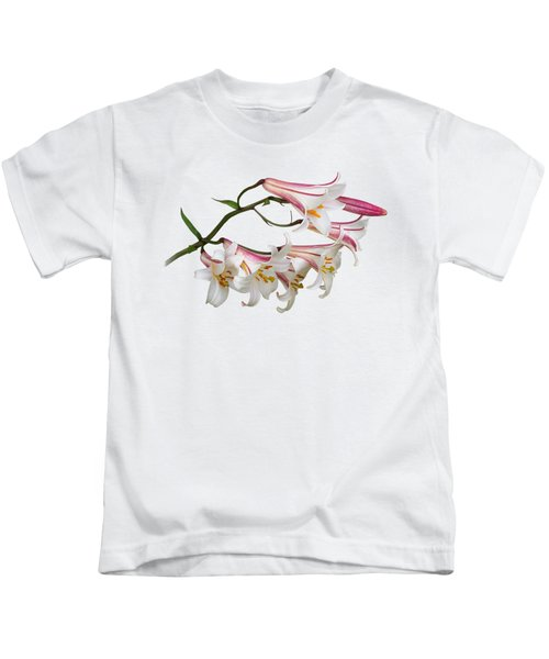 Radiant Lilies Kids T-Shirt