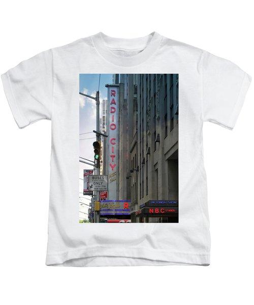 Radio City Music Hall Kids T-Shirt