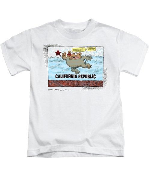 Rain And Drought In California Kids T-Shirt