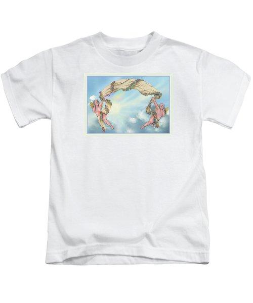 Rainbow Angels Kids T-Shirt