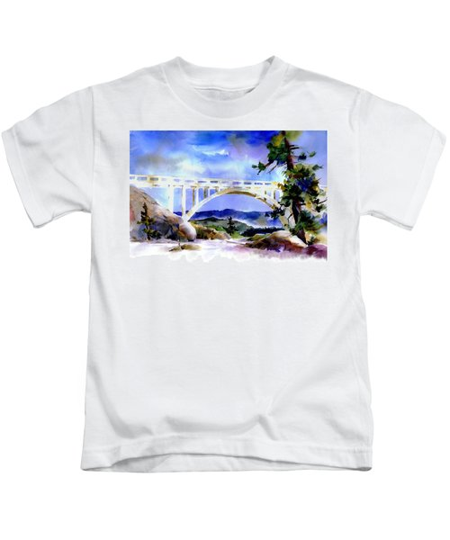 Rainbow Bridge Above Donnerlk#2 Kids T-Shirt
