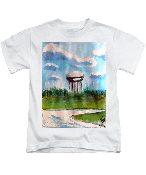 Raines Road Watertower Kids T-Shirt