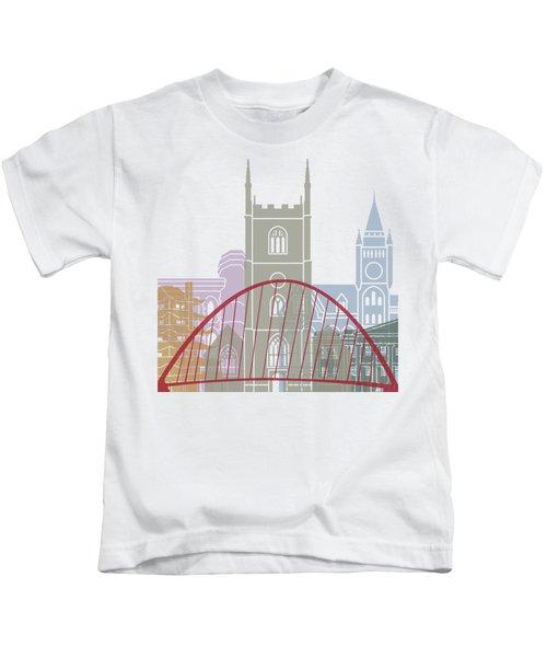 Reading Skyline Poster Kids T-Shirt
