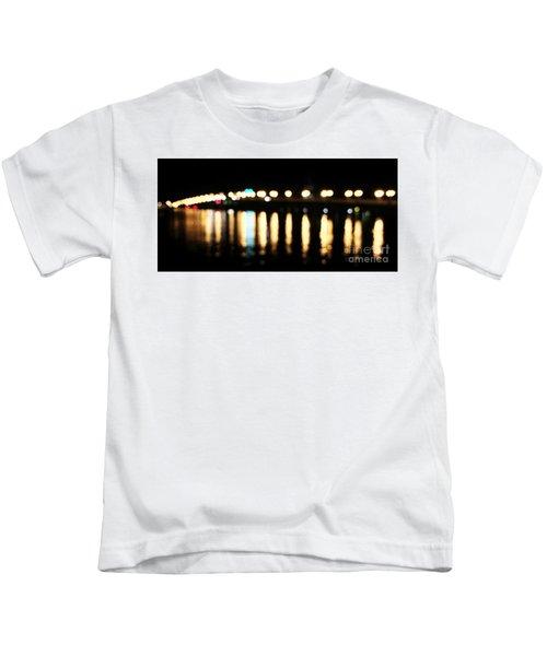 Bridge Of Lions -  Old City Lights Kids T-Shirt