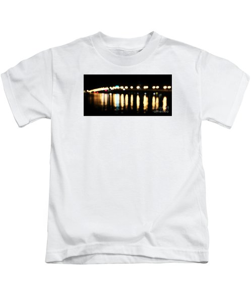 Bridge Of Lions -  Old City Lights Kids T-Shirt