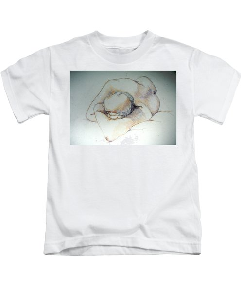 Reclining Study 3 Kids T-Shirt
