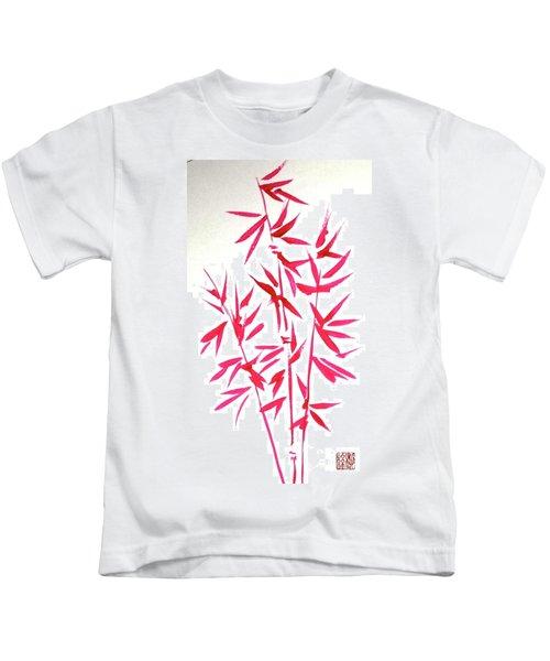 Red Bamboo Kids T-Shirt
