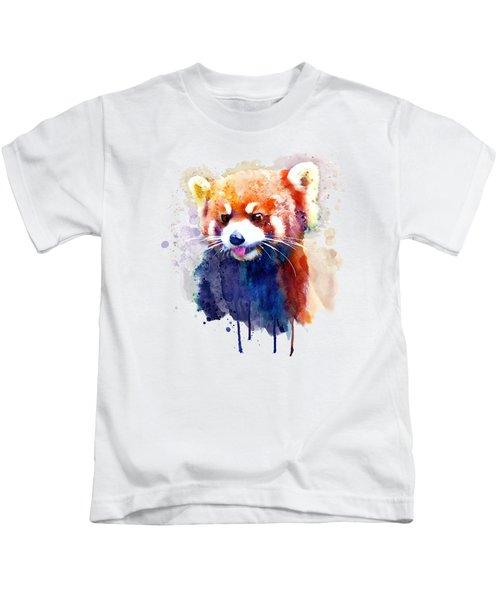 Red Panda Portrait Kids T-Shirt