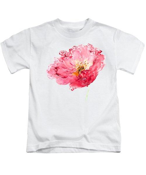 Red Poppy Painting Kids T-Shirt