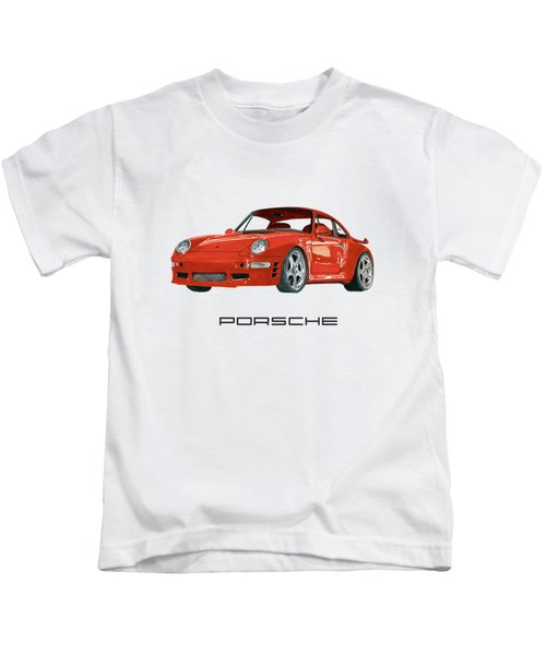 1997  Porsche 993 Twin Turbo R Kids T-Shirt